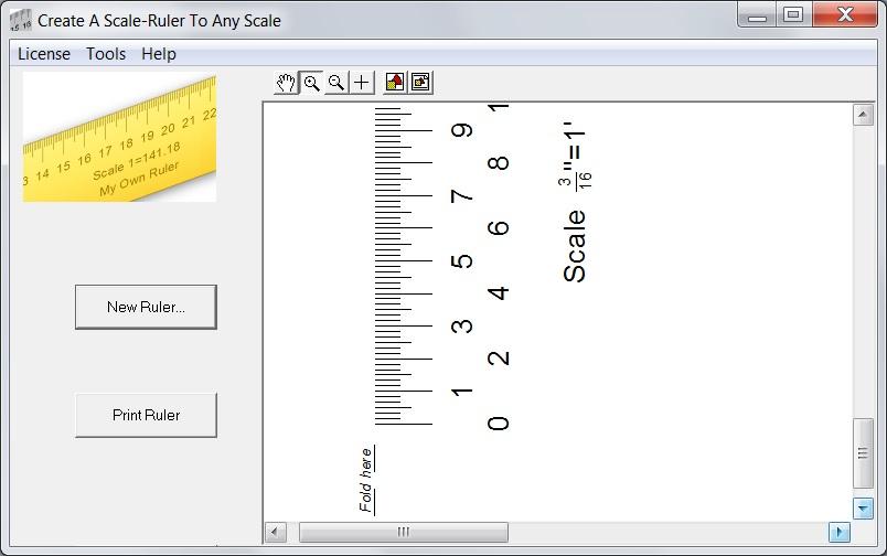 image regarding Printable Scale Ruler named Scale Ruler